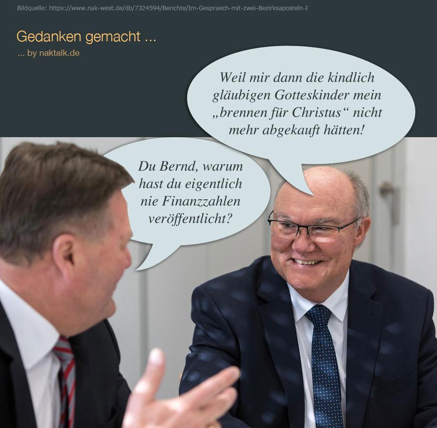 Keine Finanzzahlen von Bruder Bernd