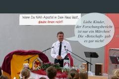 Kinder glaubt den Aposteln nicht