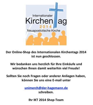 IKT 2014 Shop