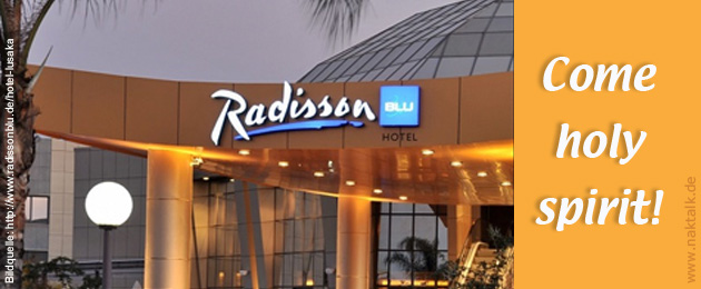 Pfingsten 2015 Lusaka Radisson Blue