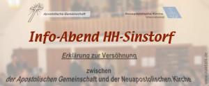 Info-Abend zur Versöhnung Hamburg-Sinstorf