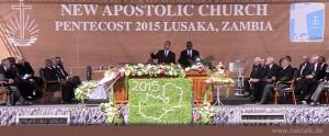 Pfingsten 2015 Sambia Lusaka Videoabschrift Predigt Stammapostel Schneider