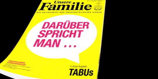 Tabus - darüber spricht man nicht