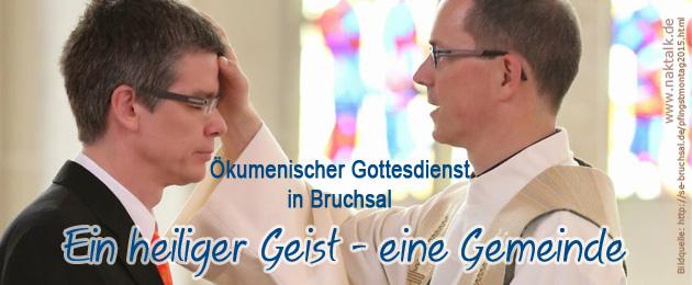 Ökumenischer Gottesdienst 2015 in Bruchsal