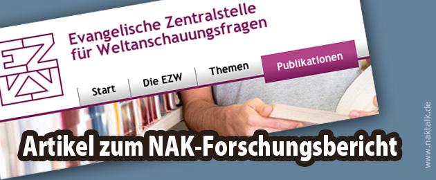 EZW Materialdienst 7/2015 NAK Zeitzeugenstudie ausgebremst
