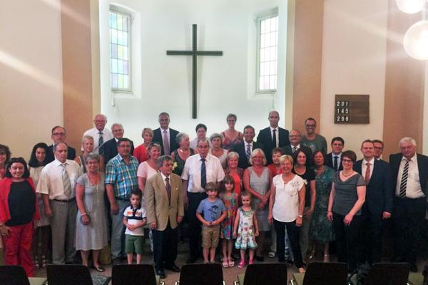 Gottesdienst der Apostolischen Gemeinde Ulm mit NAK-Besuch