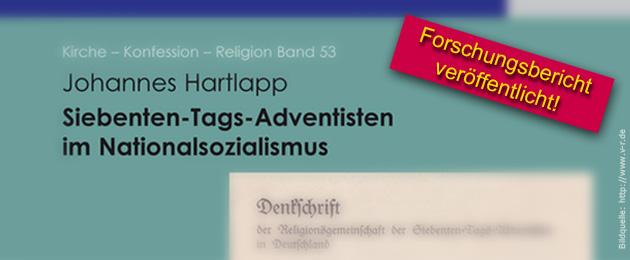 Siebenten-Tags-Adventisten im Nationalsozialismus - Forschungsbericht