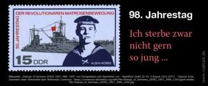 Albin Köbis und Max Reichpietsch - Matrosenbewegung 1917