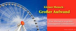 Kleiner Mensch - Grosser Auftrag