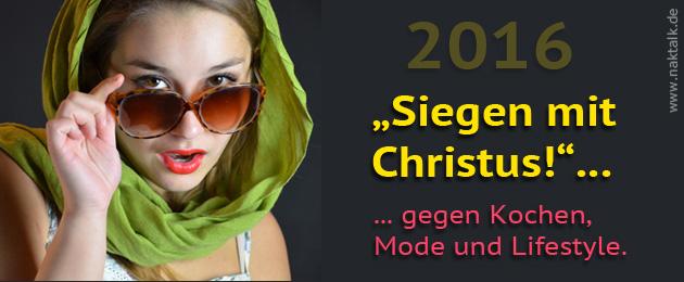 NAK-Motto 2016 - Siegen mit Christus