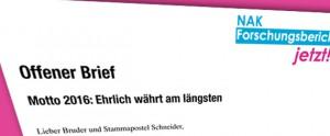 Offener-Brief-Ehrlich-währt-am-längsten (Motto 2016: Ehrlich währt am längsten)