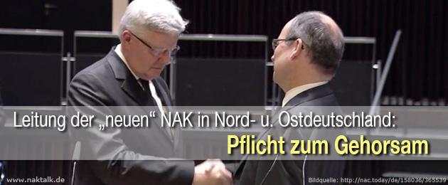 NAK Bezirksapostel - Gehorsam höchste Pflicht