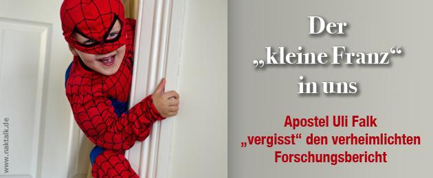 Apostel Uli Falk vergisst NAK Forschungsbericht