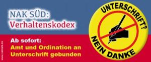 NAK Süd Verhaltenskodex