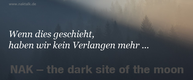 NAK - the dark site of the moon