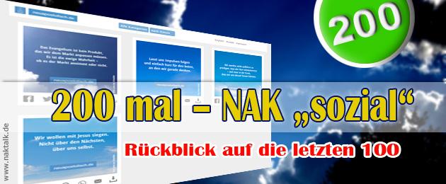 NAK Apostel-Zitate für soziale Netzwerke