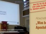 Abschrift Vortrag Kiefer Apostolizität