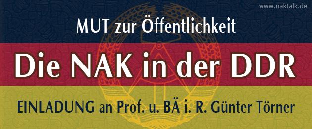 NAK in der DDR - Mut zur Öffentlichkeit