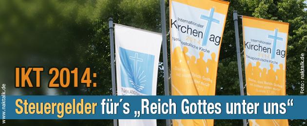 Steuergelder für den IKT 2014 in München