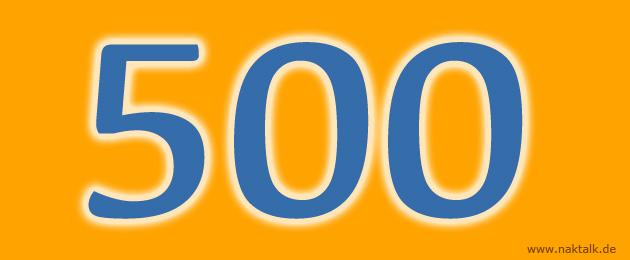 500 NAK Predigtzitate