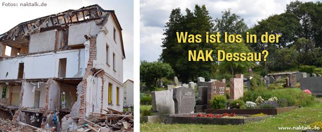 Todesfälle nach Kirchenabriss - Was ist los in der NAK Dessau