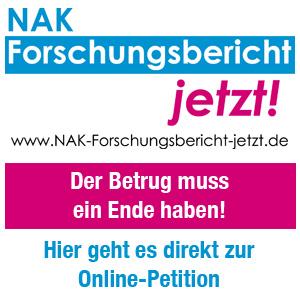 NAK Forschungsbericht jetzt veröffentlichen!