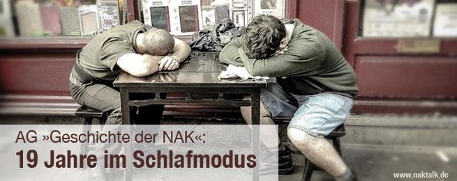 NAK AG Geschichte 19 Jahre in Schlafmodus