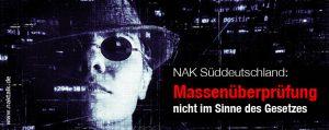 NAK Süddeutschland erweitertes Führungszeugnis