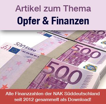 NAK Opfer und Finanzen