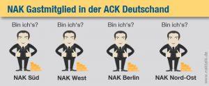 Welche NAK wird Gastmitglied in der ACK Deutschland?