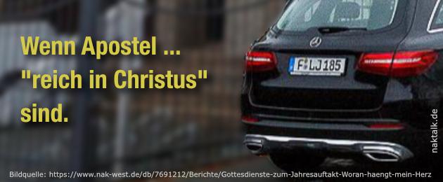 Reich in Christus - Apostel Jens Lindemann