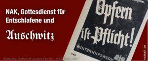 NAK und Auschwitz