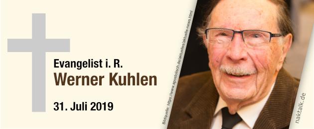 Evangelist Werner Kuhlen gestorben