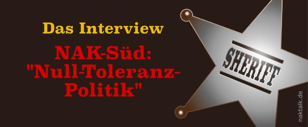 Das Interview Null-Toleranz-Politik