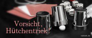 Kollegial führen - Vorsicht Hütchentrick