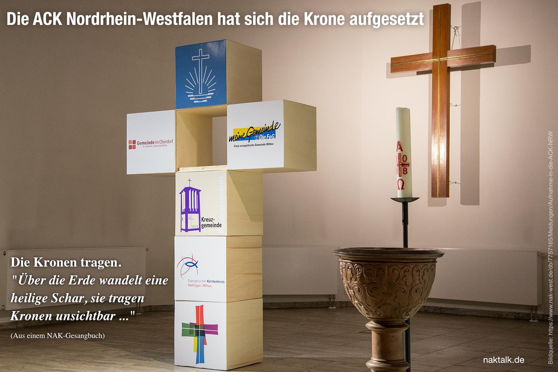 ACK NRW hat sich die NAK-Krone aufgesetzt