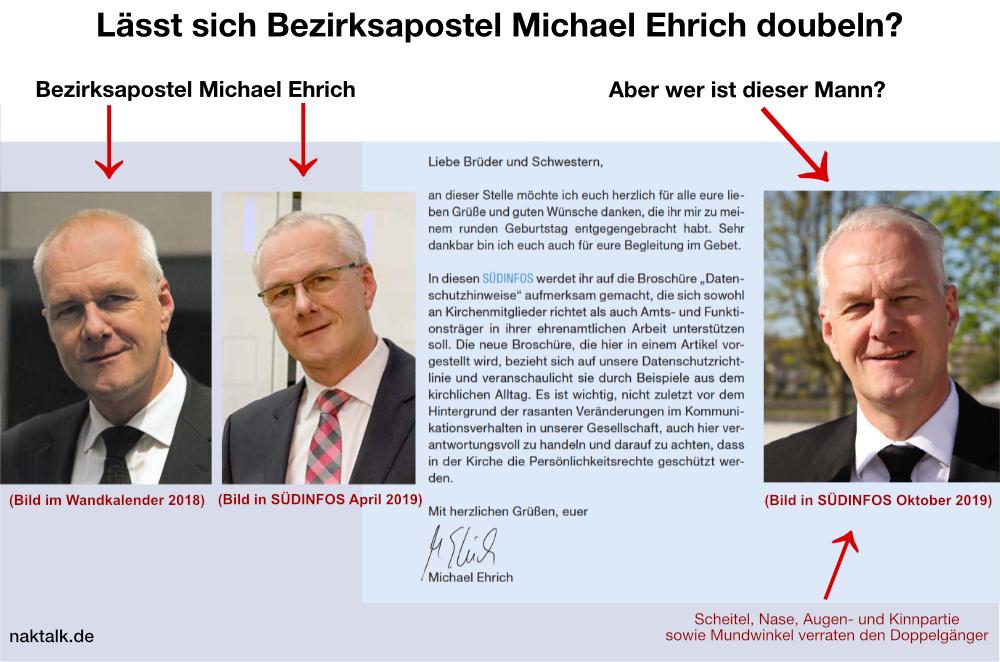 Double von Bezirksapostel Ehrich