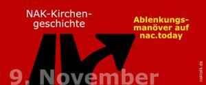Das Ablenkungsmanöver 9. November