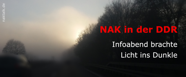 NAK in der DDR Informationsabend Berlin 2019
