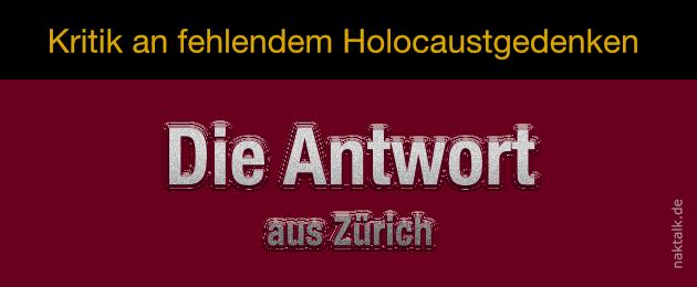 Holocaust-Kritik - Die Antwort der NAKI