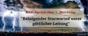 NAK Apostel 1914 - Reinigender Sturmwind