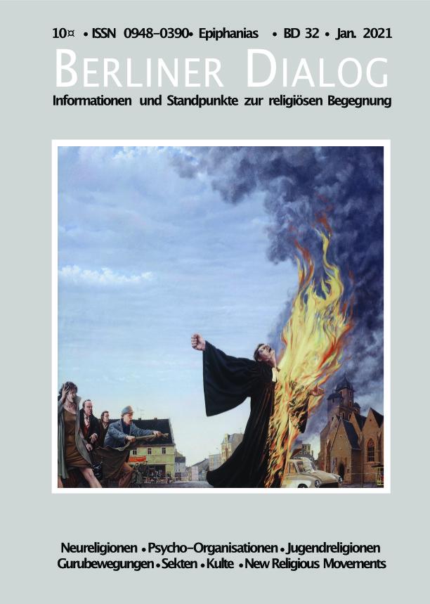 Titelblatt Berliner Dialog Januar 2021